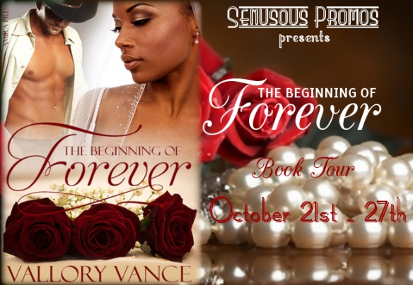 Beginning of Forever Book Tour - Vallory Vance