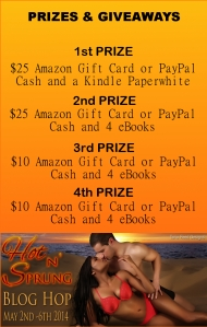 Hot n Sprung EBook Prize Breakdown
